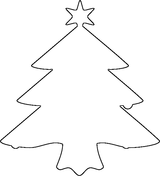 ... christmas tree 01 png alpha extract edge 2 negate christmas tree 01